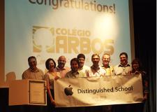 Rede Arbos é Apple Distingued School